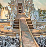 Rong Khun Temple Poster by Adrian Evans