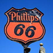 Route 66 - Phillips 66 Petroleum Poster