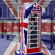 Royal Telephone Box Poster by David French