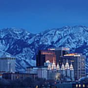 Salt Lake City Poster