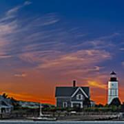 Sandy Neck Lighthouse Poster