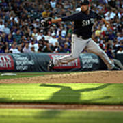 Seattle Mariners V Colorado Rockies Poster