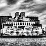 Secret Service Building London Poster