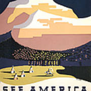 See America Poster, C1937 Poster