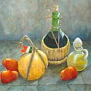 Sicilian Table Poster