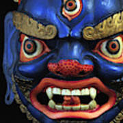 Sikkim Dance Mask, India Poster