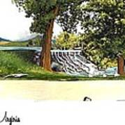 Silver Lake Mill -summer Poster