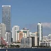 Skyline Miami Poster