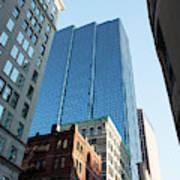 Skyscrapers In A City, Boston Poster