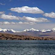 South America, Bolivia, Lake Titicaca Poster