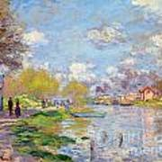 Spring By The Seine Poster