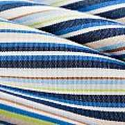 Striped Material Poster