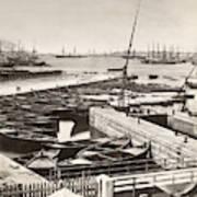 Suez Canal Port Said Poster