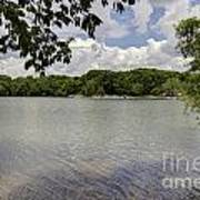 Summer Time At Moraine View State Park Poster