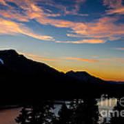 Sunset On Angora Ridge Poster by Mitch Shindelbower