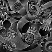 Tapestry Of Gods - Tlaloc Poster