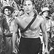 Tarzan And The Slave Girl, Lex Barker Poster