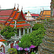 Temple Of The Dawn-wat Arun In Bangkok-thailand Poster