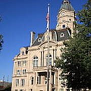 Terre Haute Indiana - Courthouse Poster
