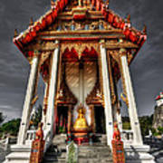 Thai Temple Poster