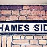 Thames Side Poster