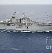 The Amphibious Assault Ship Uss Essex Poster