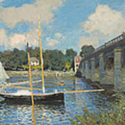 The Bridge At Argenteuil Poster