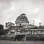 The Castillo In Chichen Itza Poster