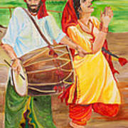 The Dhol Player Poster