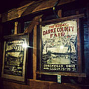 The Great Darke County Fair Poster