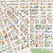 The Greenwich Village Map Poster