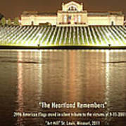 The Heartland Remembers Poster