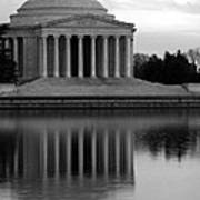 The Jefferson Memorial Poster by Cora Wandel