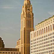 The Leveque Tower Of Columbus Ohio Poster