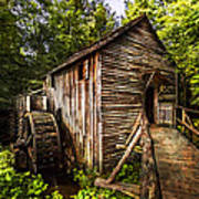 The Mill At Cades Cove Poster