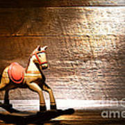 The Old Rocking Horse In The Attic Poster