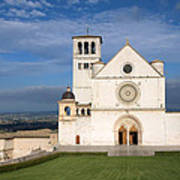 The Papal Basilica Of St. Francis Of Assisi  Poster