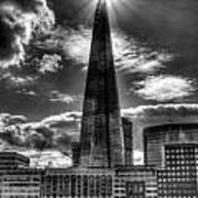 The Shard And South Bank Poster