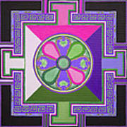 Tibetan Mandala Poster
