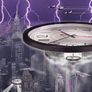 Time Travelers 2 Poster by Mike McGlothlen