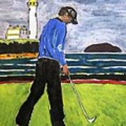 Tom Watson Turnberry 2009 Poster