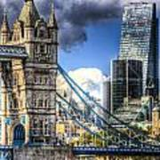 Tower Bridge And The City Poster