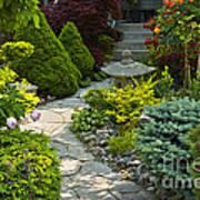 Tranquil Garden  Poster