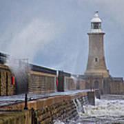 Tynemouth Pier Poster