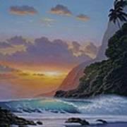 Under A Tropical Sun Poster