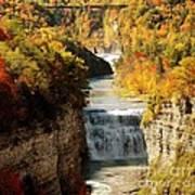 Upper Falls Poster