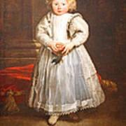 Van Dyck's Maddalena Cattaneo Poster