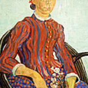 Van Gogh's La Mousme Poster