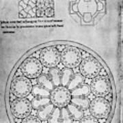 Villard De Honnecourt (c1225-1250) Poster