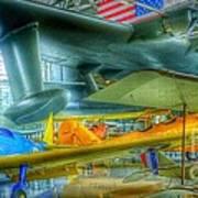 Vintage Airplanes Poster